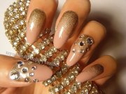 black and gold nails 7 free hd