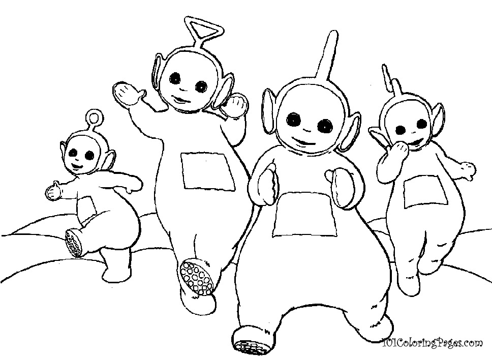 Black And White Teletubbies 30 Free Hd Wallpaper