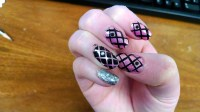 Pink And Black Nail Designs 23 Widescreen Wallpaper ...