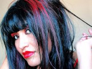 """red & black hairstyles"""" 28 cool"""