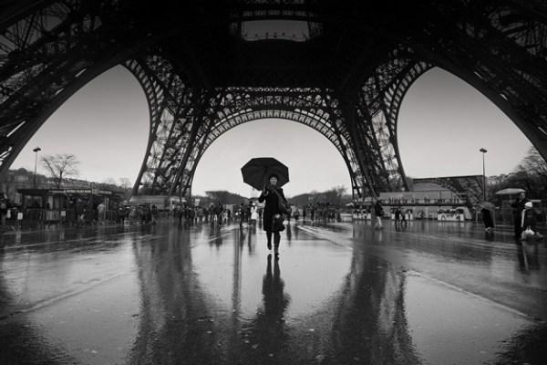 Black and White Photography Rain