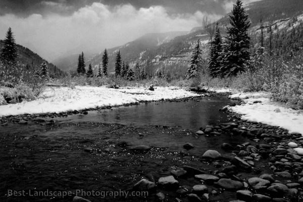 Black And White Landscape 17 Desktop Background