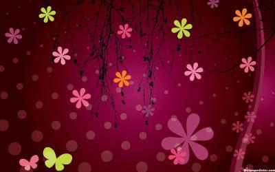 pink desktop hdblackwallpaper