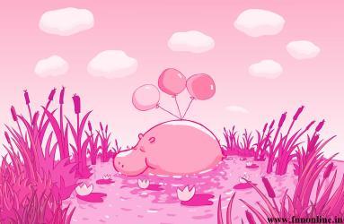 pink hd desktop cartoon hippo cool wallpapers funny wallpapersafari glitter hdblackwallpaper code