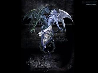 dark gothic wallpapers hd background goth desktop angel backgrounds fairies evil dragon fantasy fairy angels hdblackwallpaper anime widescreen light demon