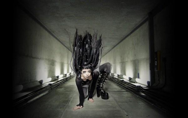 Scary Dark Gothic Wallpaper