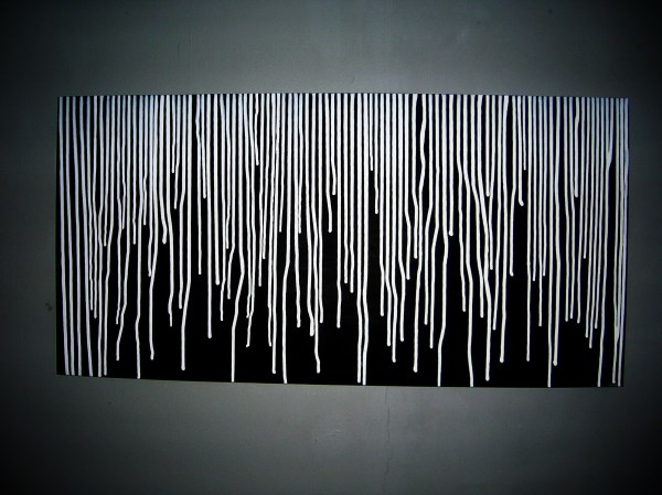 Black and White Abstract Art Paintings