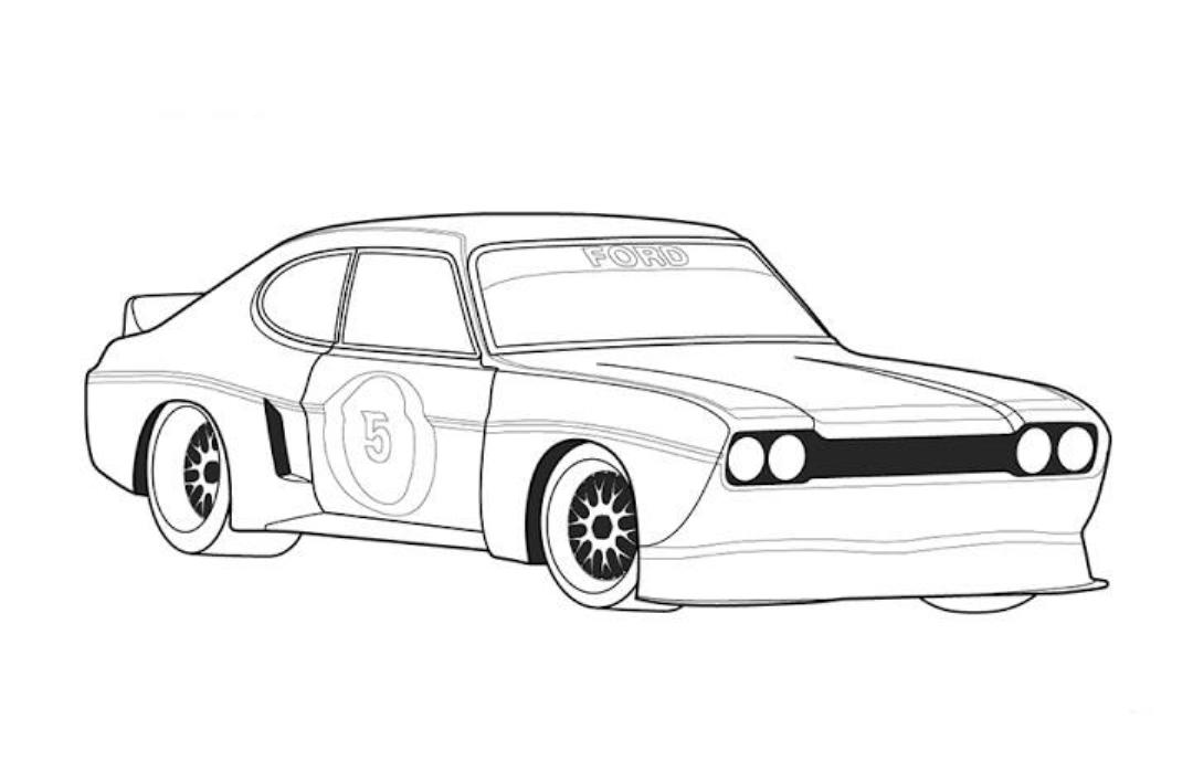 Black And White Car Drawings 3 Cool Hd Wallpaper