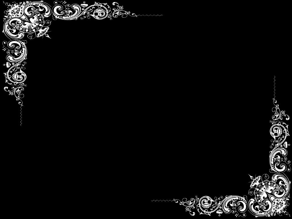 Plain Black Wallpaper Border 1 Desktop Background