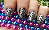 Black And Silver Nail Designs 16 Widescreen Wallpaper ...