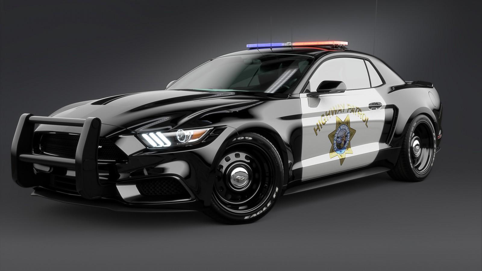 2017 Ford Mustang Notchback Design Police 2 Wallpaper  Hd
