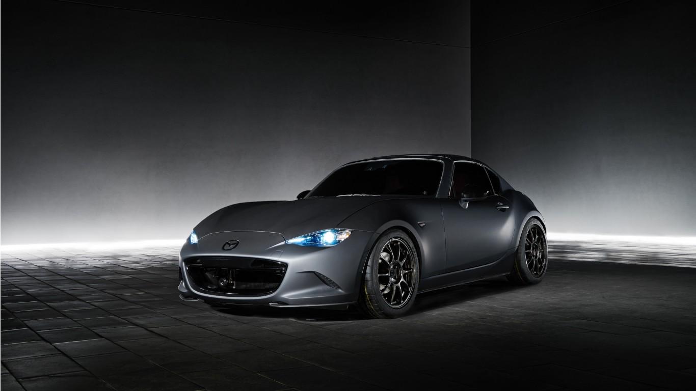Mazda Mx 5 Miata Rf Roadster 2017 Wallpaper  Hd Car