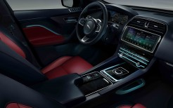 Jaguar F-Pace Chequered Flag 2019 4K Interior