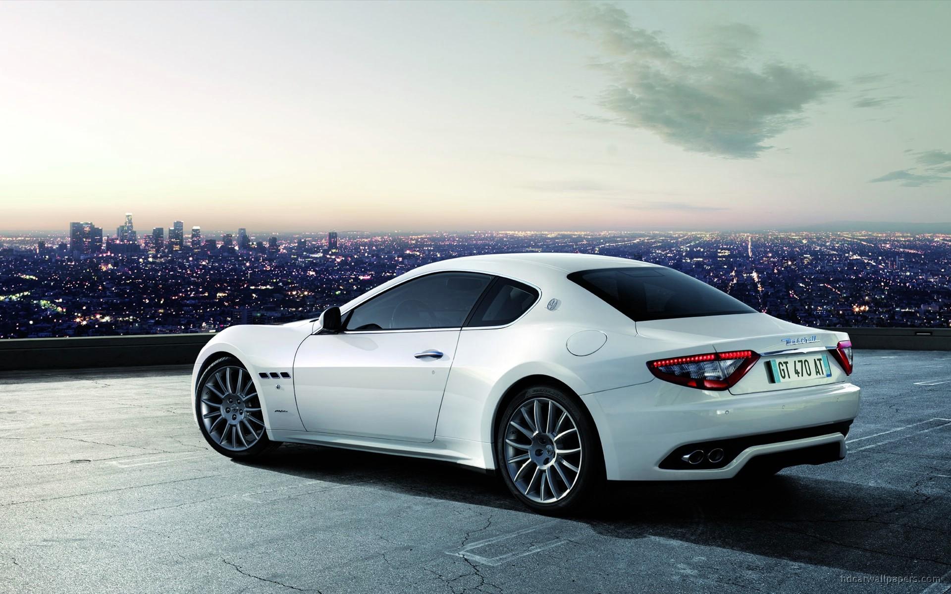 2010 Maserati Granturismo S Automatic Wallpaper  Hd Car