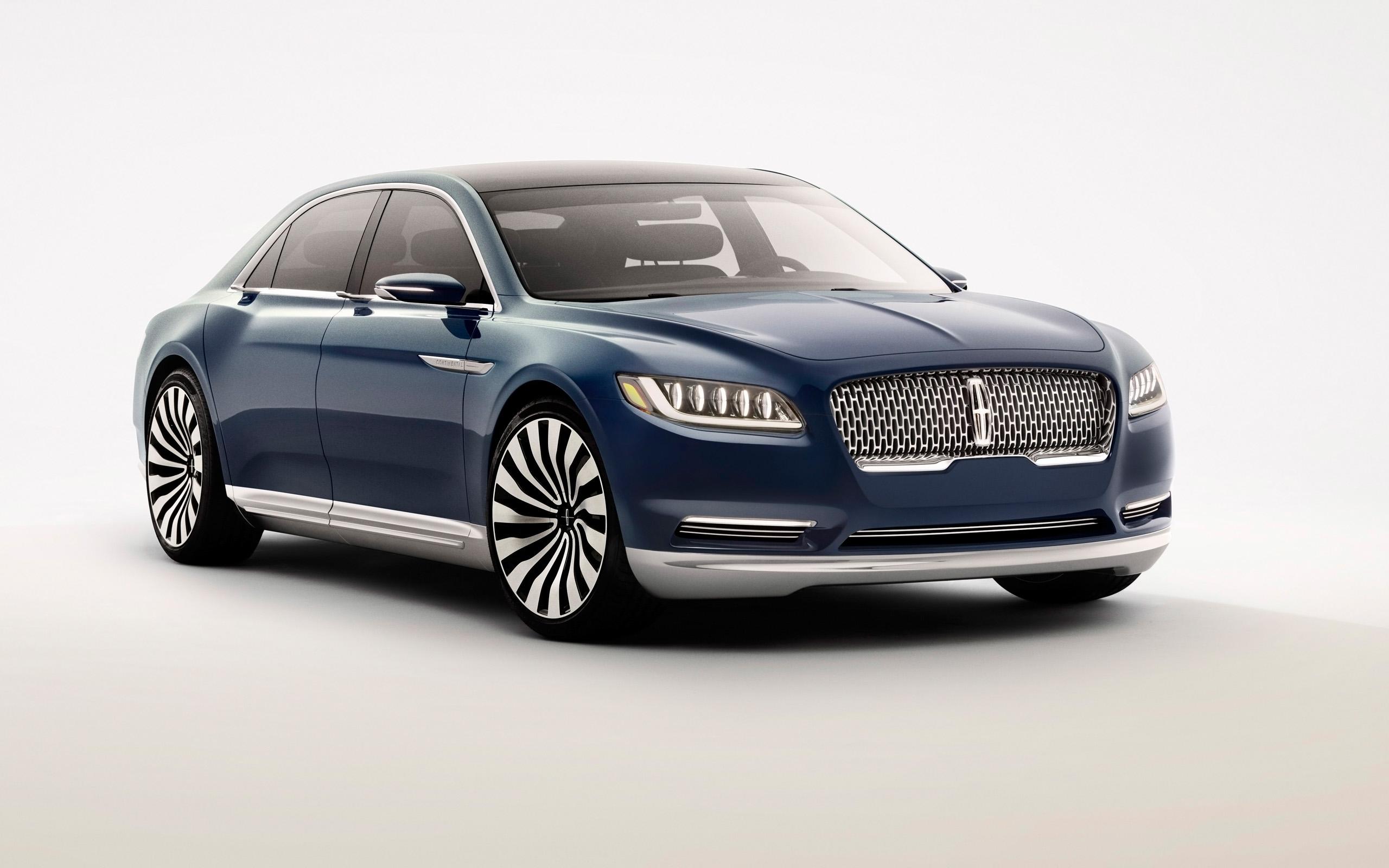 2015 Lincoln Continental Concept Wallpaper  Hd Car