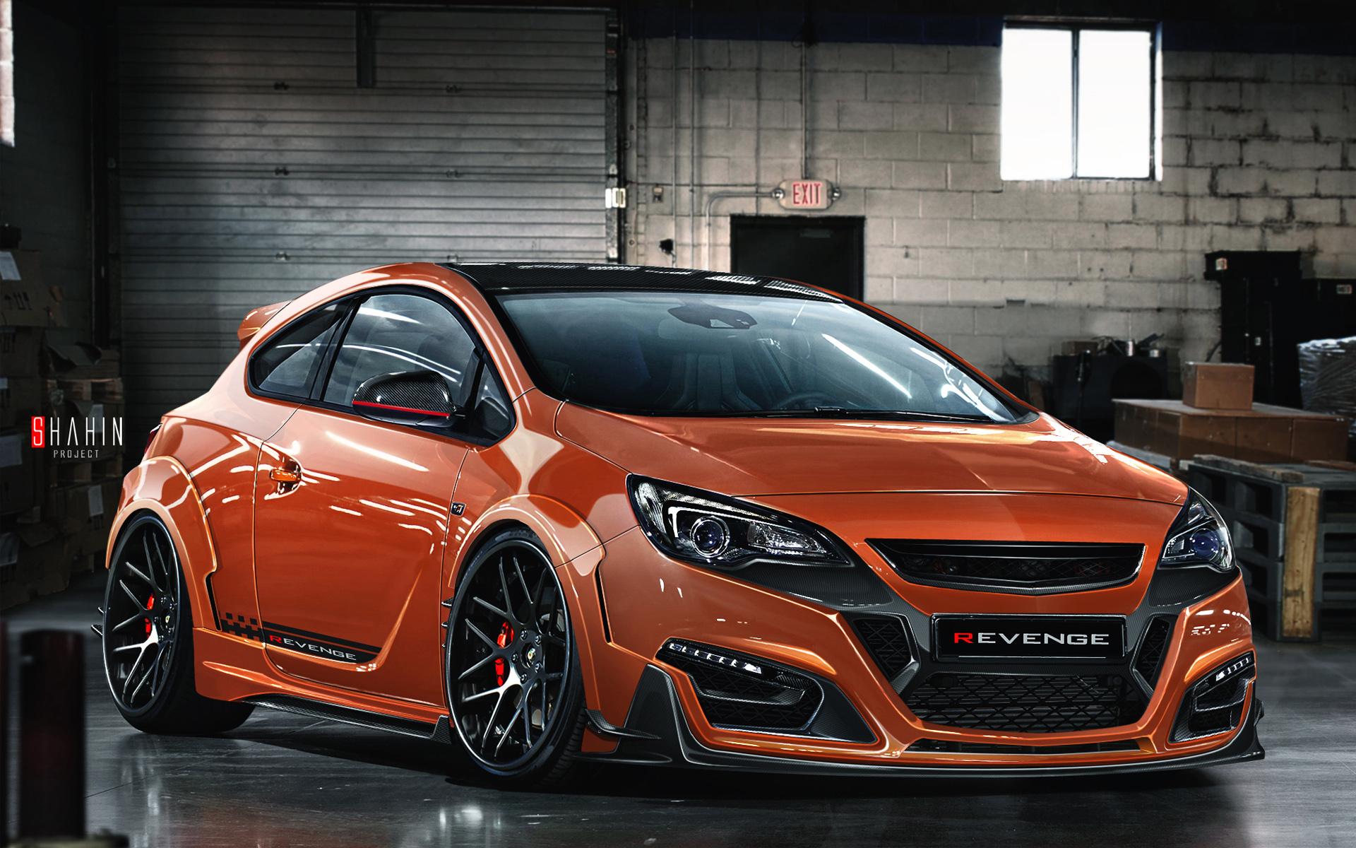 2015 Opel Astra Gtc Revenge Wallpaper  Hd Car Wallpapers