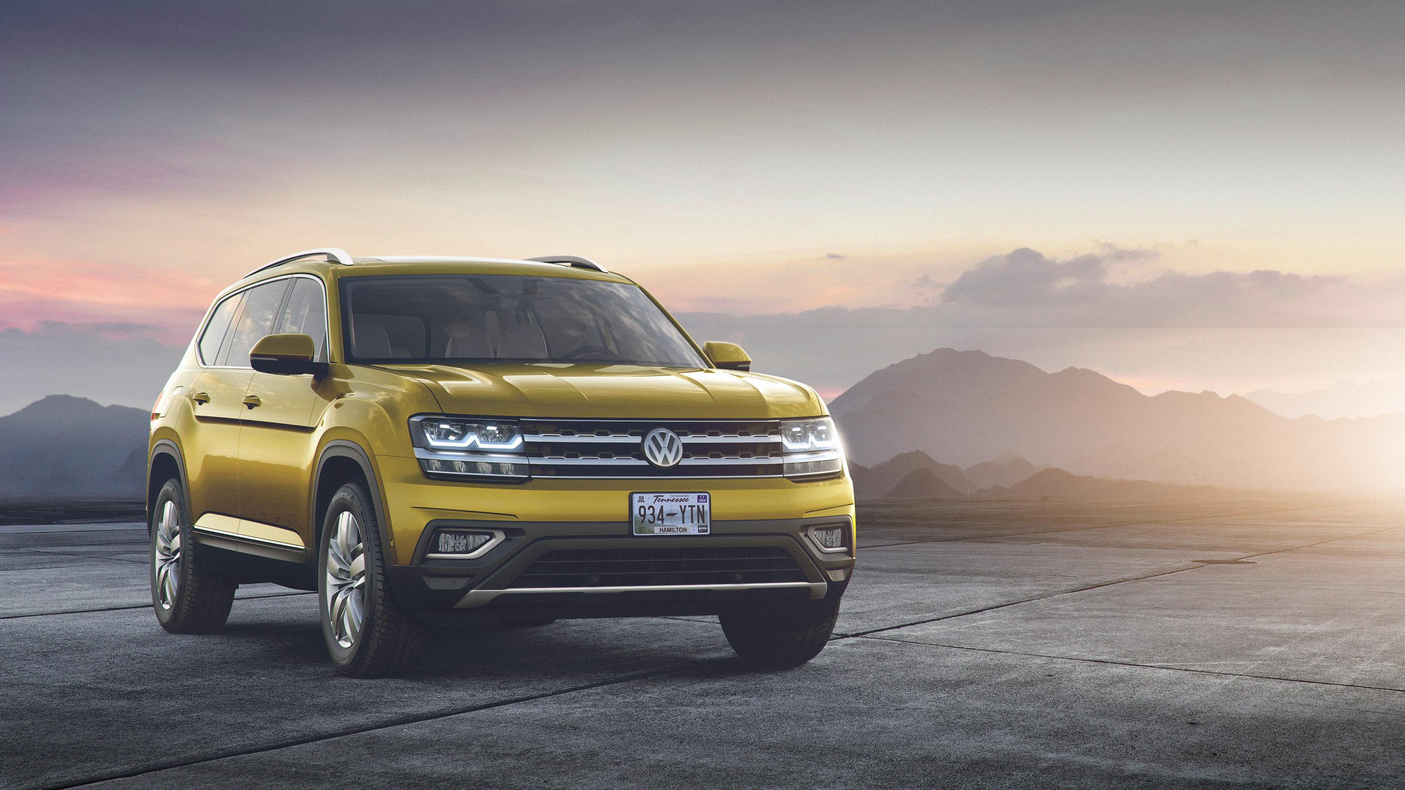 2018 Volkswagen Atlas Wallpaper  Hd Car Wallpapers  Id #7116