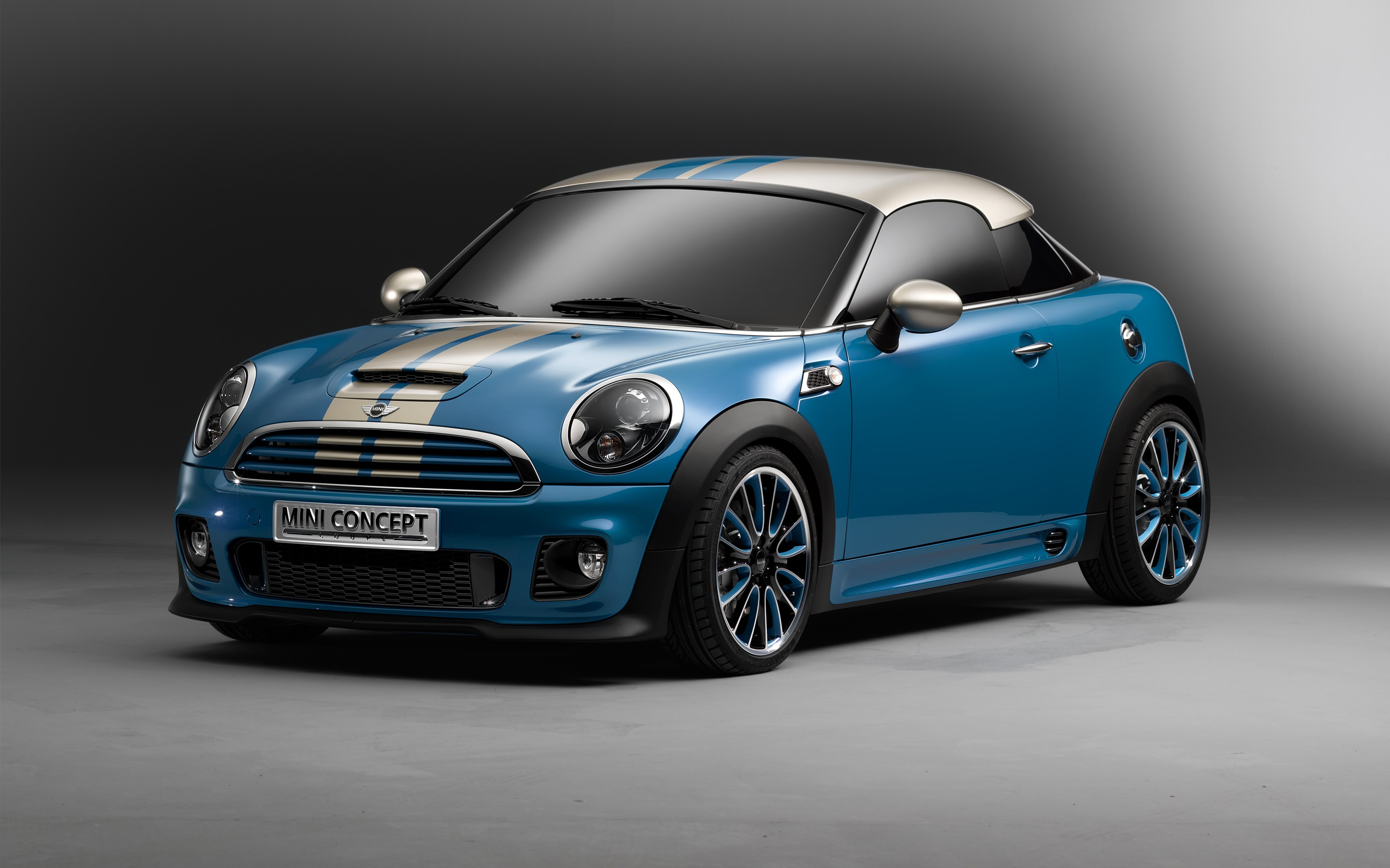 Mini Cooper Coupe Concept Wallpaper  Hd Car Wallpapers