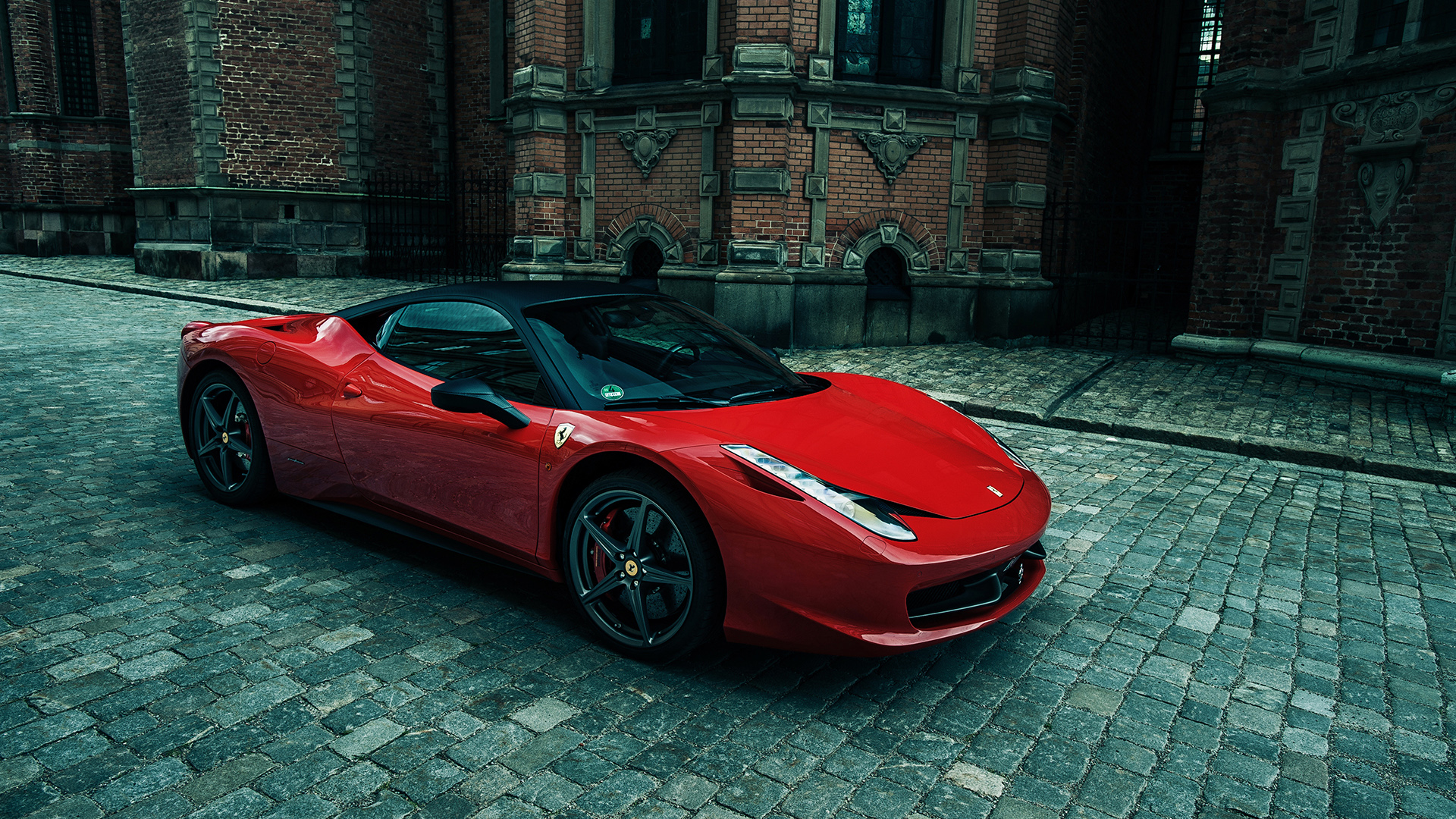 Sporty Ferrari 458 Italia Wallpaper  Hd Car Wallpapers