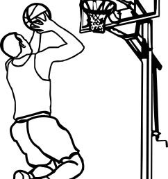 outline playing basketball clipart children playing basketball clipart black and white [ 1688 x 2753 Pixel ]