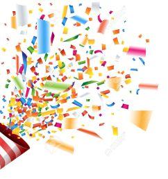 celebration clipart confetti explosion 8 [ 1300 x 1041 Pixel ]