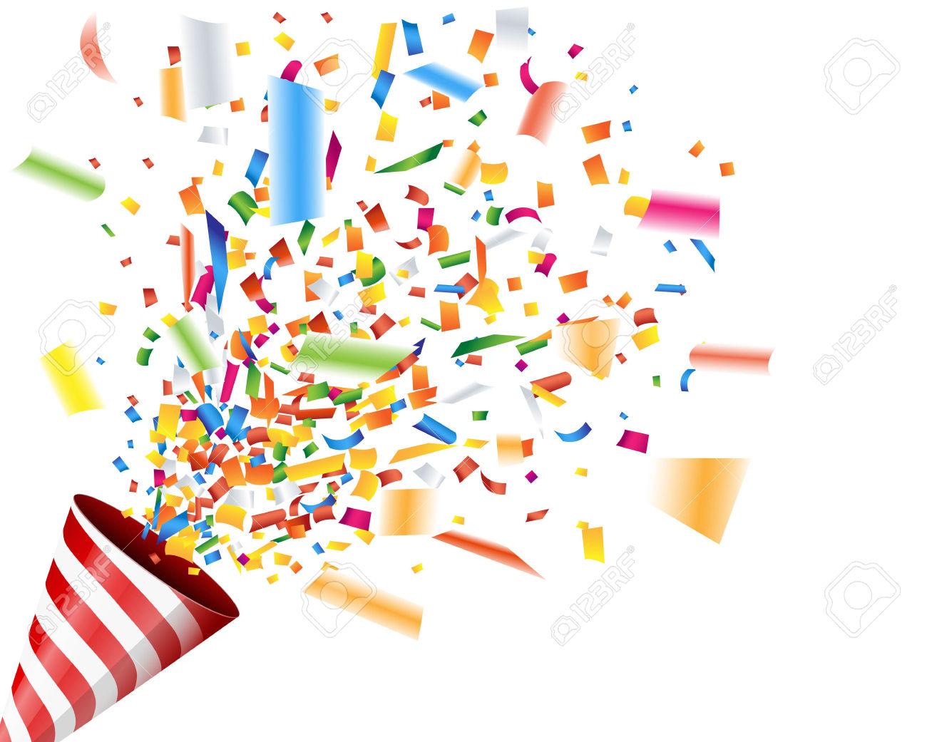 hight resolution of celebration clipart confetti explosion 8