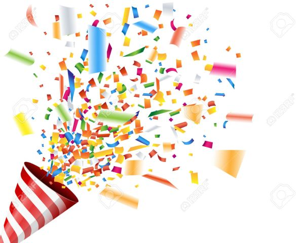 7 celebration clipart