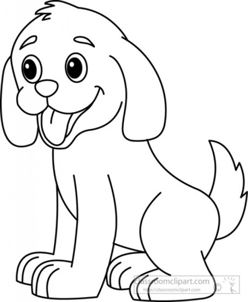small resolution of dog clipart black and white jpeg image 17282