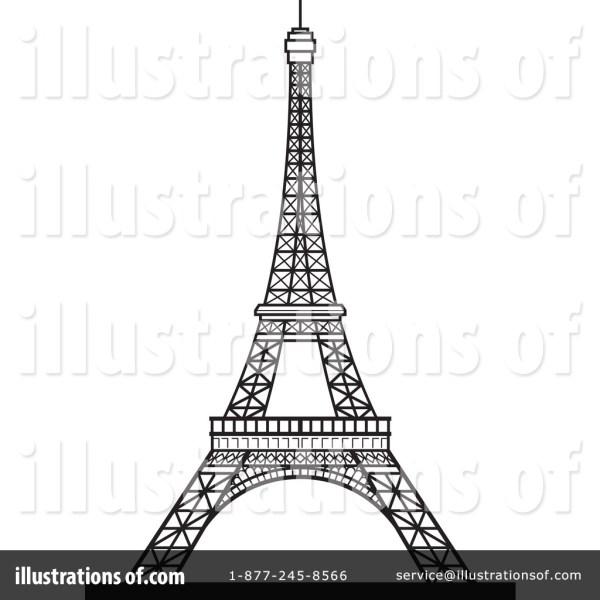 Eiffel Tower Clipart & Clip Art