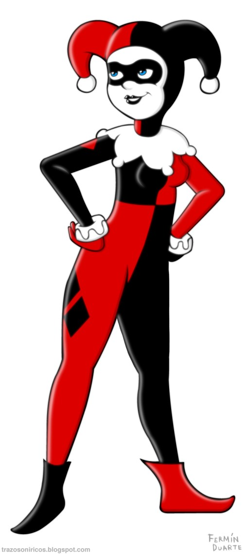 small resolution of harley quinn clipart hd