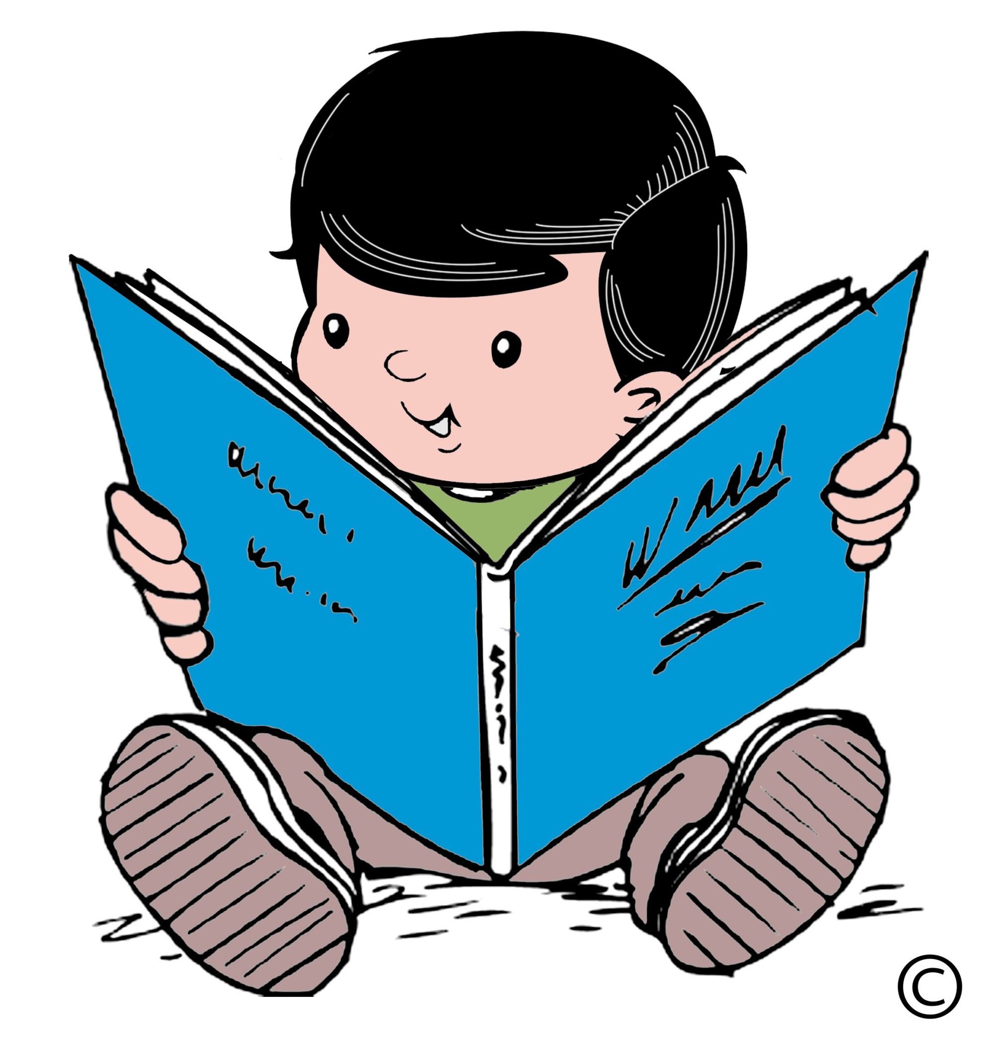 hight resolution of child reading clipart library free clipart images