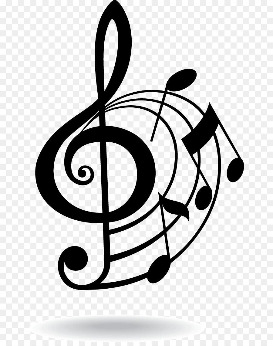 hight resolution of musical note eighth note clip art musical elements 352842