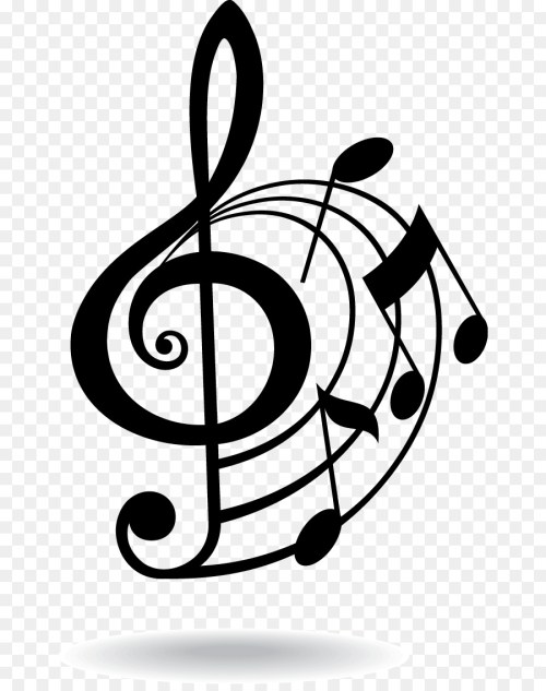 small resolution of musical note eighth note clip art musical elements 352842