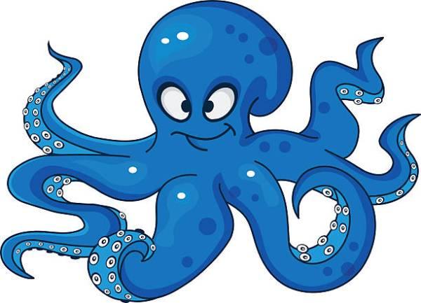 octopus clipart & clip
