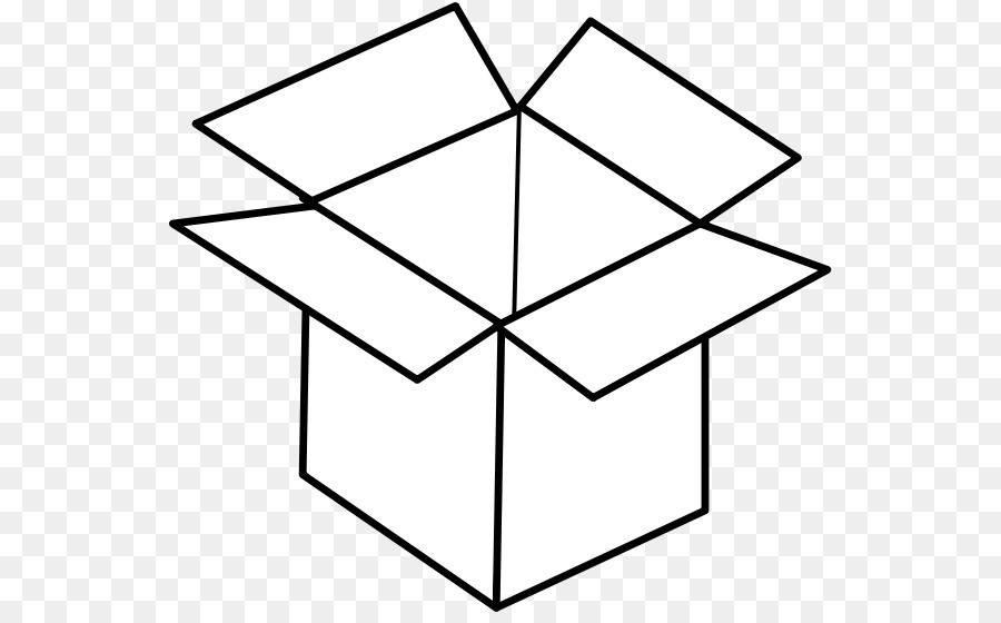 Black And White Box Coloring Pages