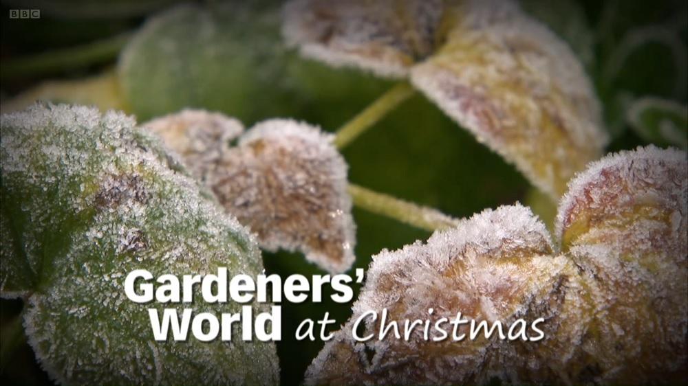 Gardeners' World Christmas Special 2011