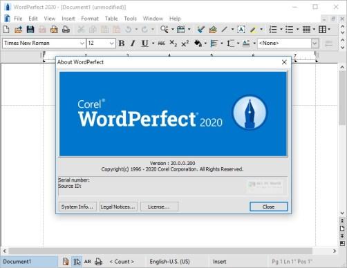 Corel WordPerfect Office Full Crack
