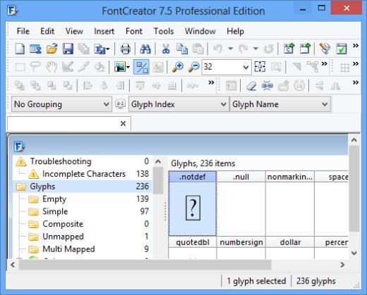 FontCreator Full Crack
