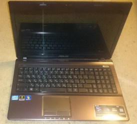 Ноутбук на запчасти модель Asus A53SM