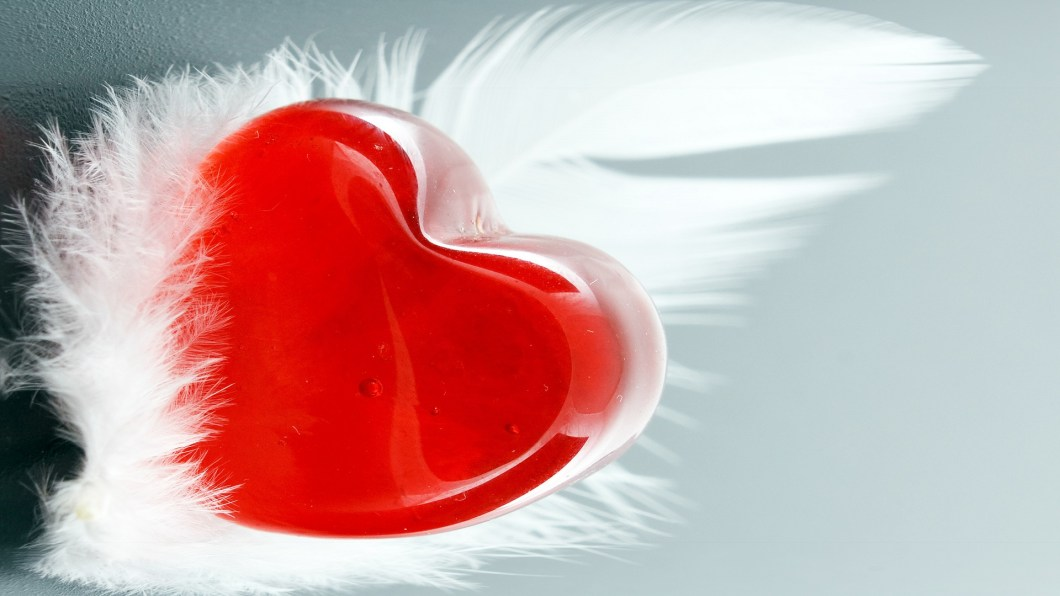 Cute Red Valentines Day Heart Hd Desktop Wallpapers 4k Love Picture Angel