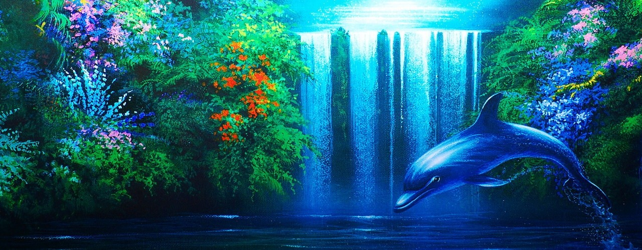 Cool Wallpapers Moving Dolphin