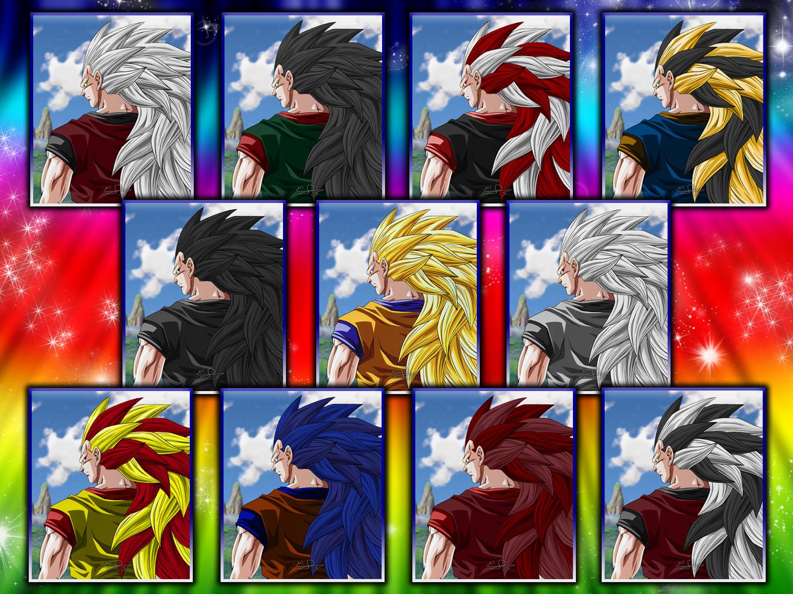 Super Saiyan Live Wallpaper Iphone X Dragon Ball Z Wallpapers Colorful Hd Desktop Wallpapers