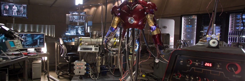 Iron Man Wallpaper Lab HD Desktop Wallpapers 4k HD