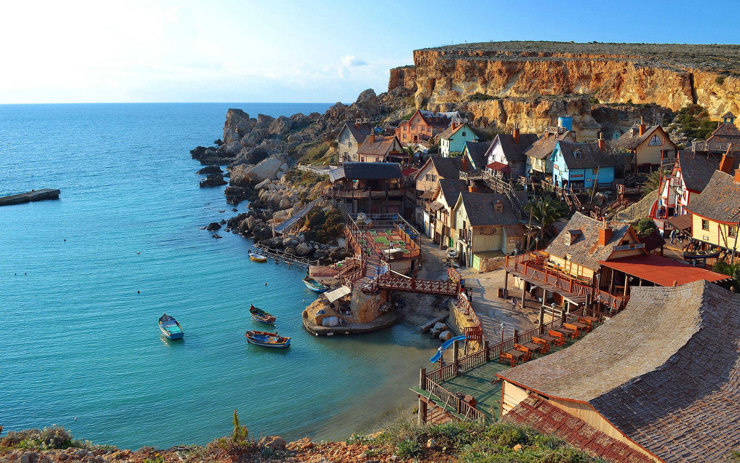 Love Cute Wallpaper Free Download Malta Anchor Bay Pictures Hd Desktop Wallpapers 4k Hd