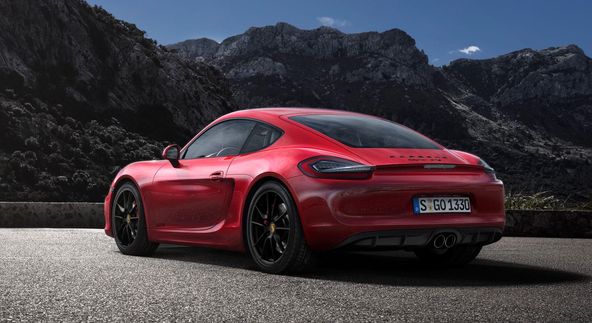 Porsche Boxster Wallpaper Hd Porsche Cayman Gts Red Hd Hd Desktop Wallpapers 4k Hd