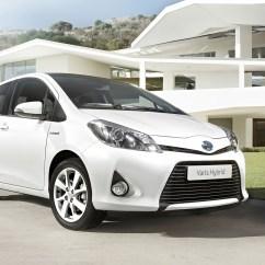 Toyota Yaris Trd White Grand New Veloz Modif Hybrid Hd Desktop Wallpapers 4k