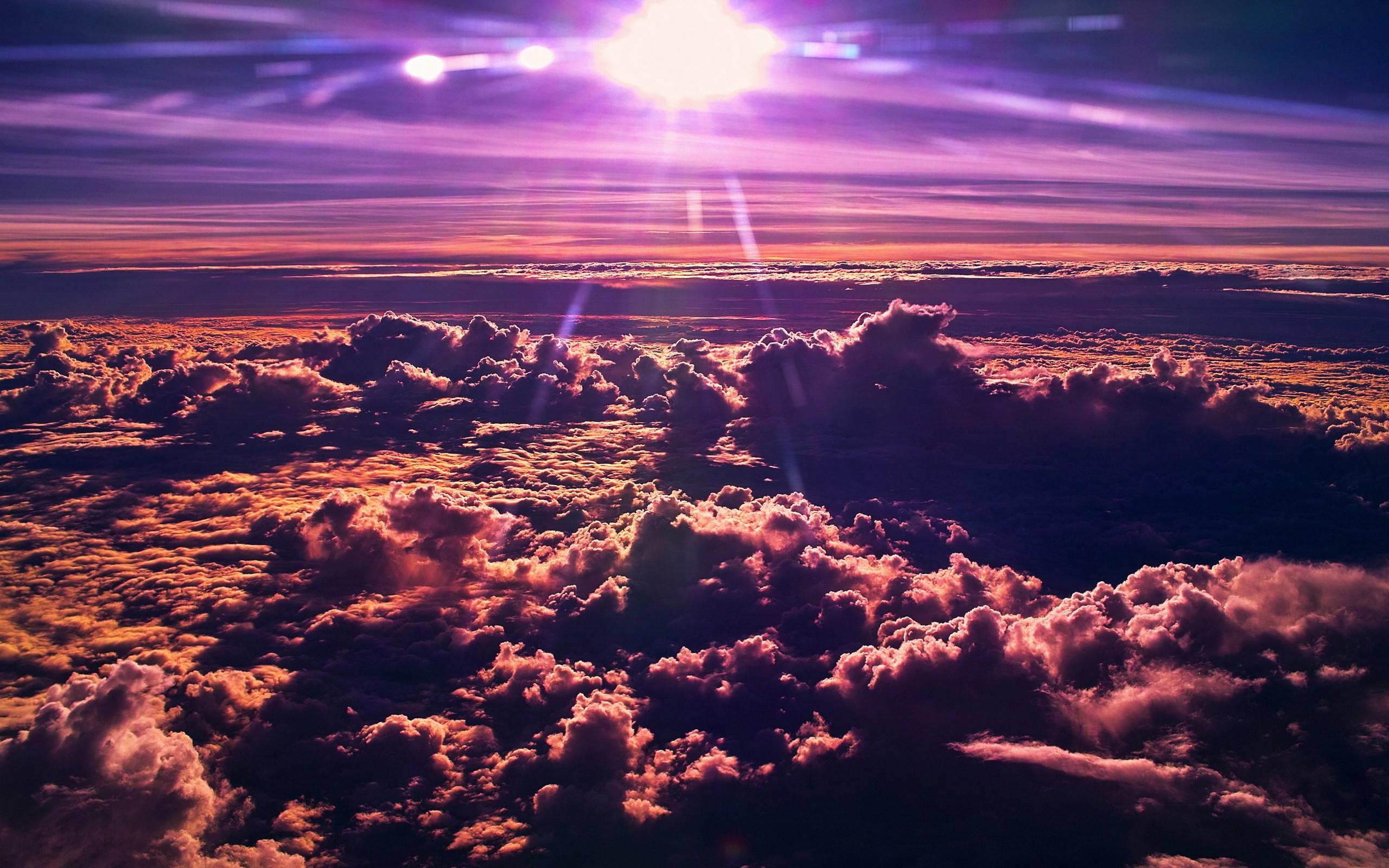 clouds pictures purple  HD Desktop Wallpapers  4k HD