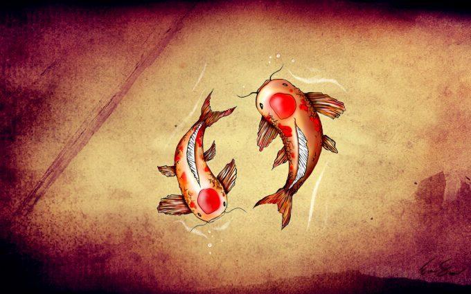 Anime Koi Fish Girl Wallpaper Koi Fish Picture 1080p Hd Desktop Wallpapers 4k Hd