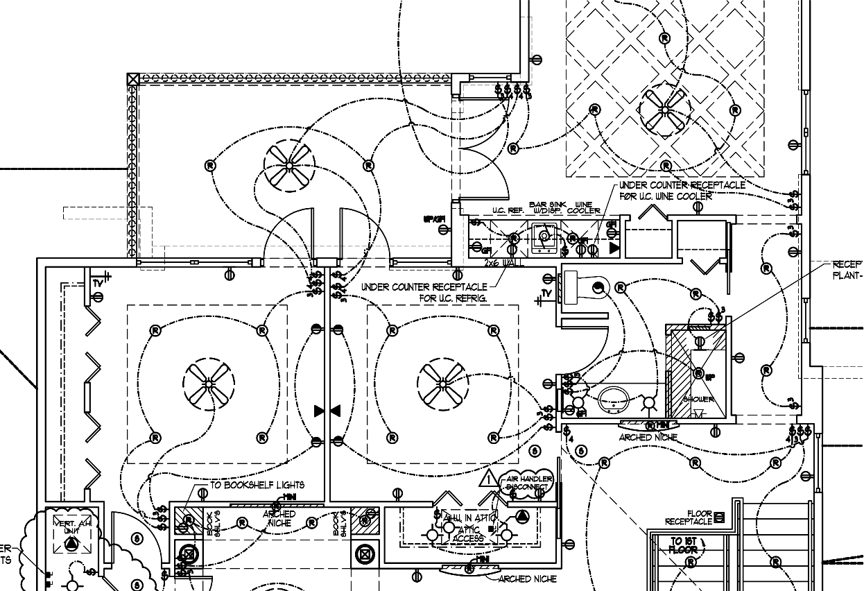 hight resolution of haugen architectural design drafting servicespartial sample electrical plan