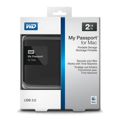 WD My Passport Ultra portable external hard drive review, box